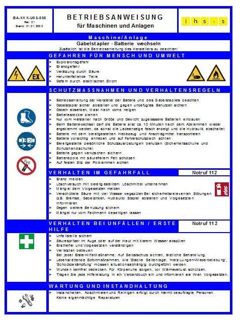 Unterweisungen - BA 2